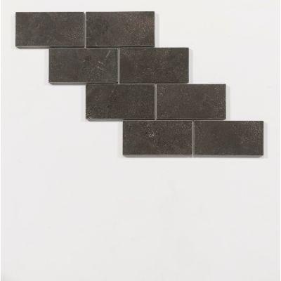 Chinese hardsteen wandtegel 15 x 7,5 x 1 cm